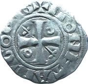 Denier Chalonnais - Hugues II – avers