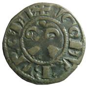 Digenois au S rétrograde - Hugues III – avers