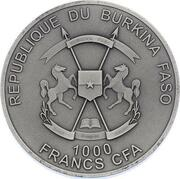 1000 Francs CFA (Alexander Selkirk) – avers