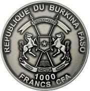 1000 Francs CFA (Moses Exodus) – avers