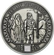 1000 Francs CFA (Moses Exodus) – revers