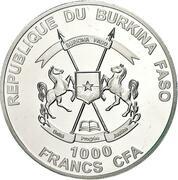 1000 Francs CFA (The Nano Bible) – avers