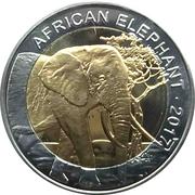 50 Francs CFA (Éléphant) – revers