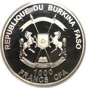 1000 Francs CFA - Aphrodite – avers