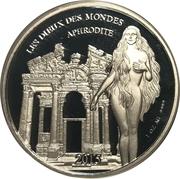 1000 Francs CFA - Aphrodite – revers