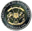 50 Francs CFA (Sea Turtle) – avers