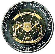 50 Francs CFA (Sea Turtle) -  avers