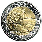 50 Francs CFA (Sea Turtle) -  revers