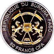 50 Francs CFA  (Andrea Doria) – avers