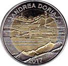50 Francs CFA  (Andrea Doria) – revers