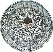 1000 Francs CFA (Chameleon Eye) – revers