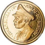 100 Francs - Mwambutsa IV (Indépendance) – avers