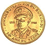 10 Francs (50ème anniversaire de règne) – avers