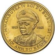 100 Francs (50ème anniversaire du règne) – avers