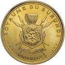 100 Francs (50ème anniversaire du règne) – revers