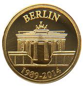 100 Francs - Chute du mur de Berlin – revers