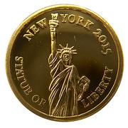 100 Francs - Statue de la Liberté New-York – revers