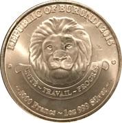 5000 Francs (African Lion) – avers