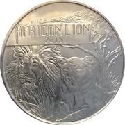 5000 Francs (African Lion) – revers