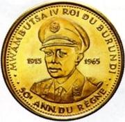 25 Francs - Mwambutsa IV (Anniversaire du règne) – avers