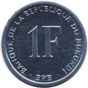 1 franc (République) – revers