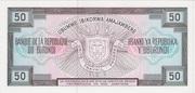 50 Francs Typre 1977 – revers