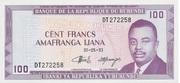 100 Francs Type 1977 – avers