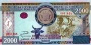 2000 Francs -  avers