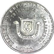 5 francs (République) – avers