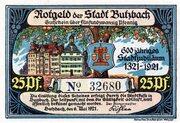 25 Pfennig (Butzbach) – avers