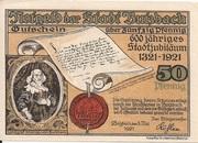 50 Pfennig (Butzbach) – avers