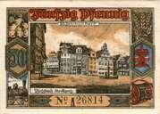 50 Pfennig (Butzbach) – revers