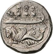 Dishekel - Uzzibaal (Byblos) – avers