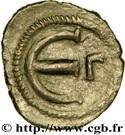 Pentanummium - Justinien Ier (Constantinople, variante à l'officine) – revers