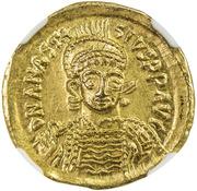 Solidus - Anastasius – avers