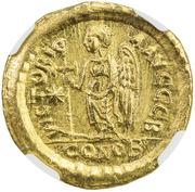 Solidus - Anastasius – revers