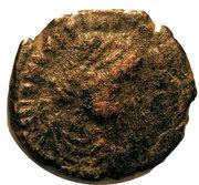 Decanummium Justinien Ier (atelier de Constantinople) – avers