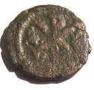 Pentanummium - Justin Ier (Constantinople) – revers