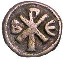 Pentanummium - Justin I (Constantinople) – revers
