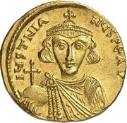 Solidus - Justinien II (VICTORIA AVGV, Constantinople) -  avers