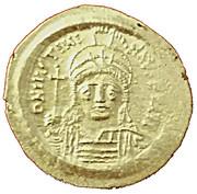 Solidus - Justinien 1er (VICTORIA AVGGGE) – avers