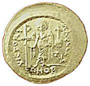 Solidus - Justinien 1er (VICTORIA AVGGGE) – revers