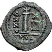 Decanummium - Heraclius (Chypre) – revers