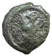 Hexadécanummium - Justinien Ier (Thessalonique) – avers