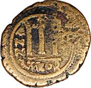 Follis - Phocas et Léontia (Antioche) -  revers