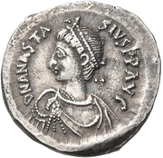 Double Siliqua - Anastasius I Dicorus (Constantinoplis) -  avers