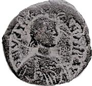 Follis - Justinian I (Nicomedia) – avers