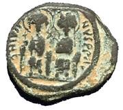 20 Nummi - Justin II and Aelia Sophia (Constantinopolis) -  avers