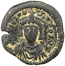 Décanummium - Tibère II Constantin – avers