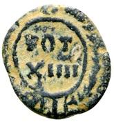 Nummus - Justinian I (VOT XIIII; Carthage) -  avers